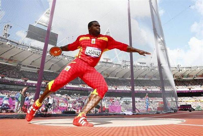 Lanzamiento de Disco atletismo