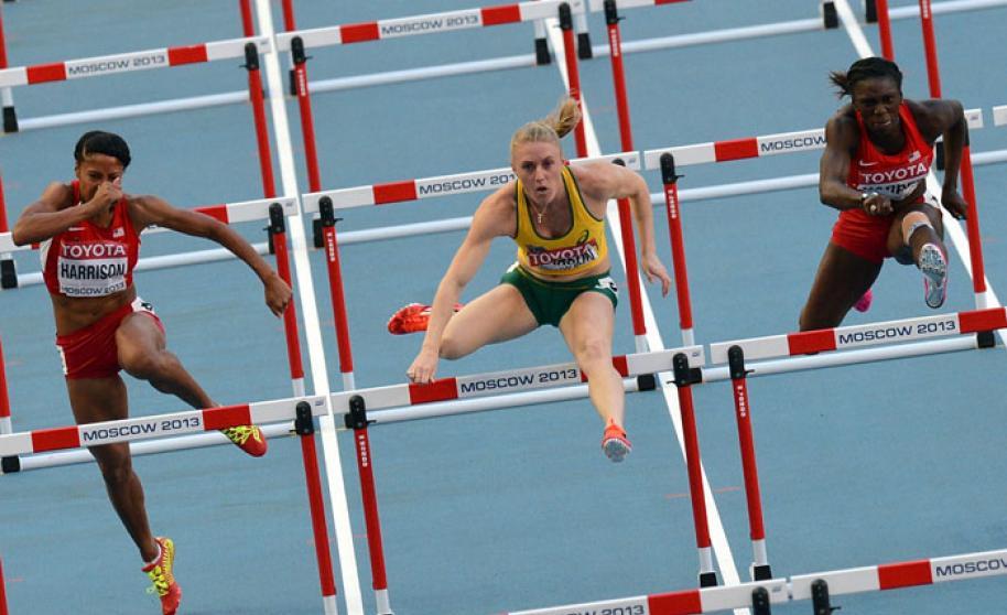 Salto de Vallas atletismo