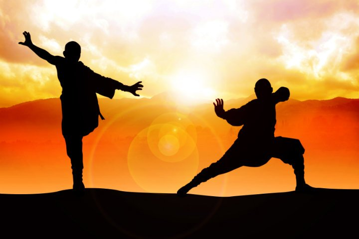 Kung fu combate