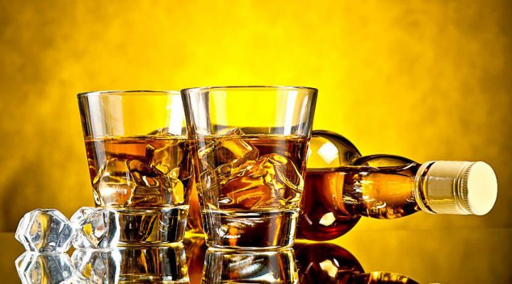 Whisky alcohol