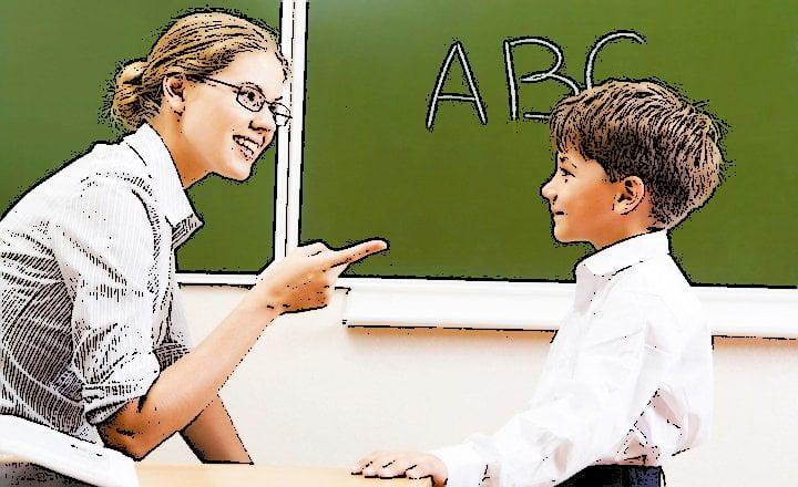 Educador enseñar
