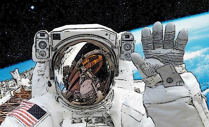 Astronauta viaje