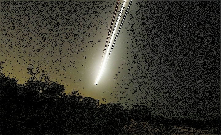 Meteorito espacio