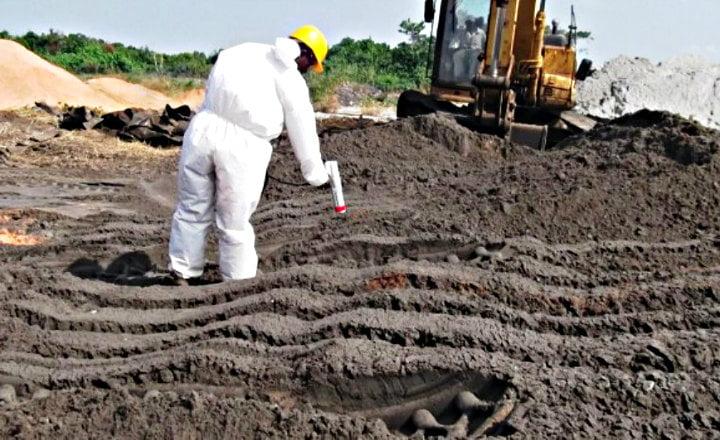 Landfarming suelos