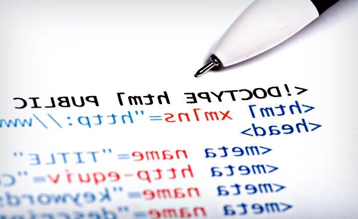 Código HTML estructura