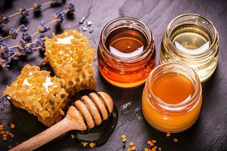 Miel producido