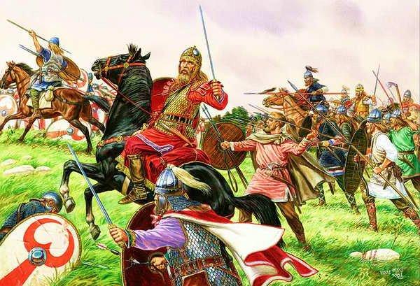 Reinos Germánicos imperio romano