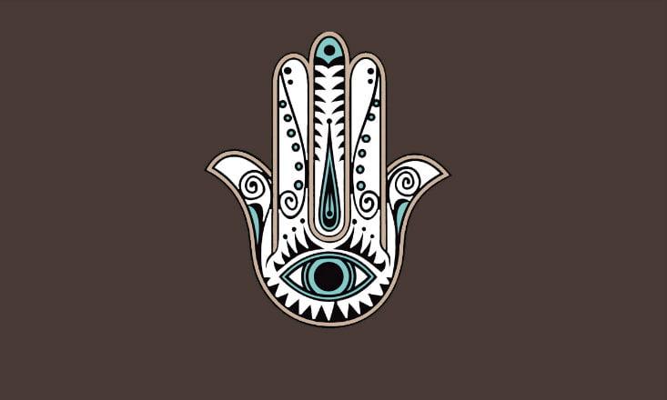 Hamsa amuleto protector